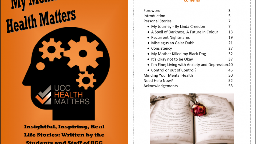 My Mental Health Matters UCC Booklet