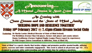 An Evening with Clann Eireann and the 'State of Mind Family'
